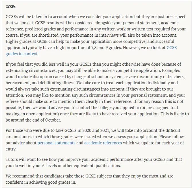 英国前5院校公布IGCSE要求是什么,IGCSE需要达到多少