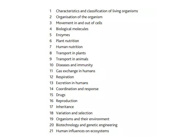 IGCSE生物怎么拿高分,IGCSE生物怎么学?